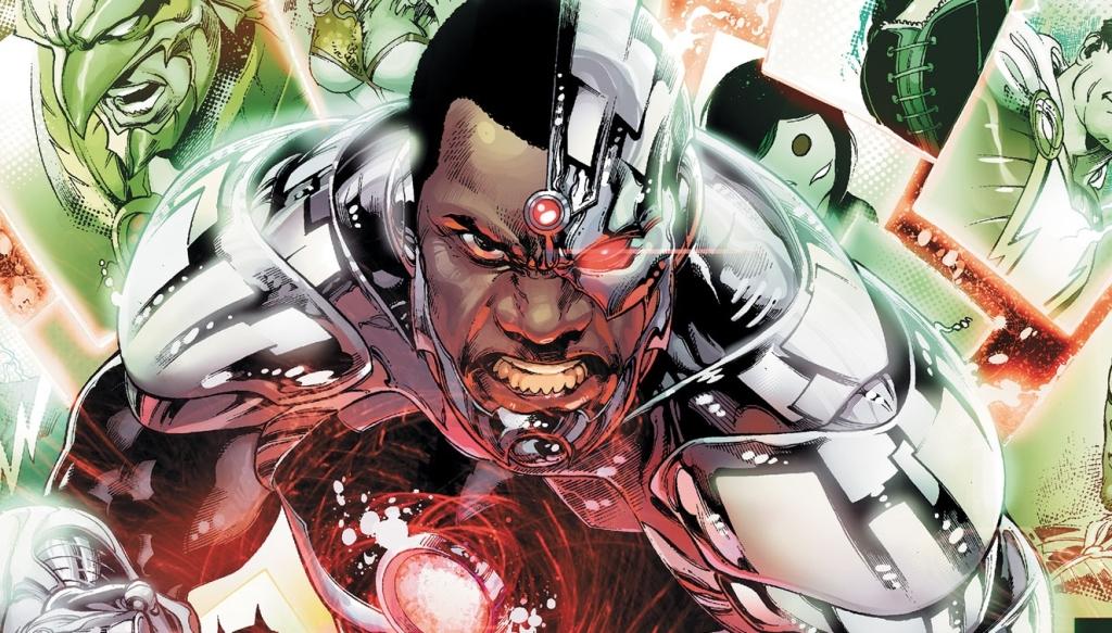 Cyborg, waarbij de link naar RoboCop nooit veraf is. (Foto DC Comic)