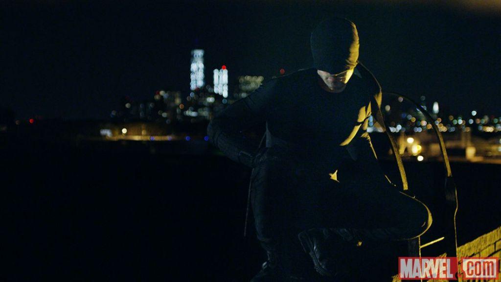 De nieuwe Daredevil krijgt (nog) geen rood lederen kostuum. (Foto Marvel)