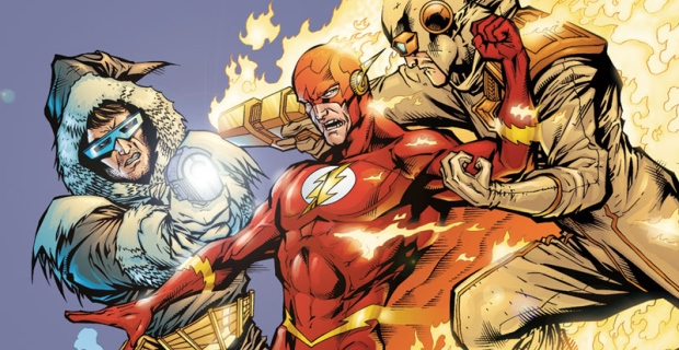 Captain Cold en Heat Wave worden twee vijanden van The Flash. (GF)