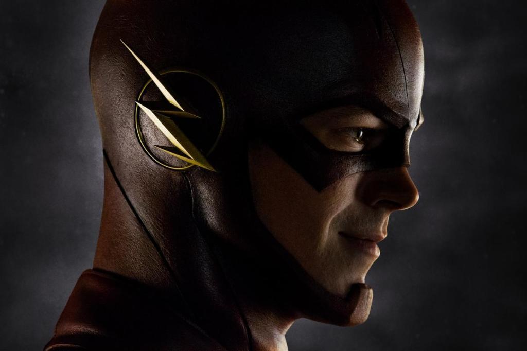 The Flash: sneller dan zijn eigen schaduw. (Foto CW)