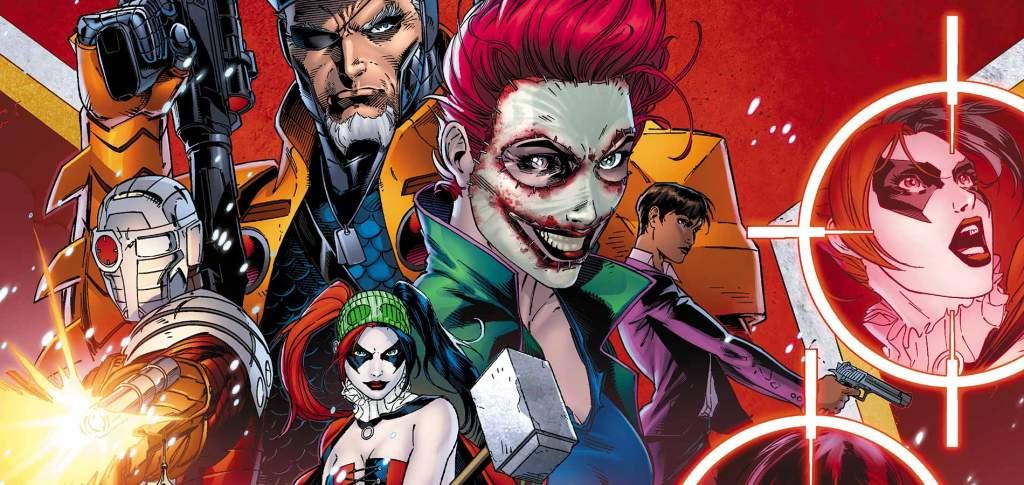 Suicide Squad, niet bepaald de meest gezinsvriendelijke titel én gezelligste personage... (Foto DC Comics)
