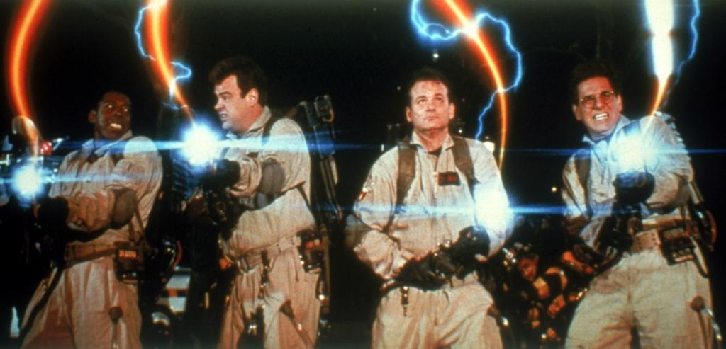 Eén van de vele iconische beelden uit Ghostbusters. (Foto Sony)