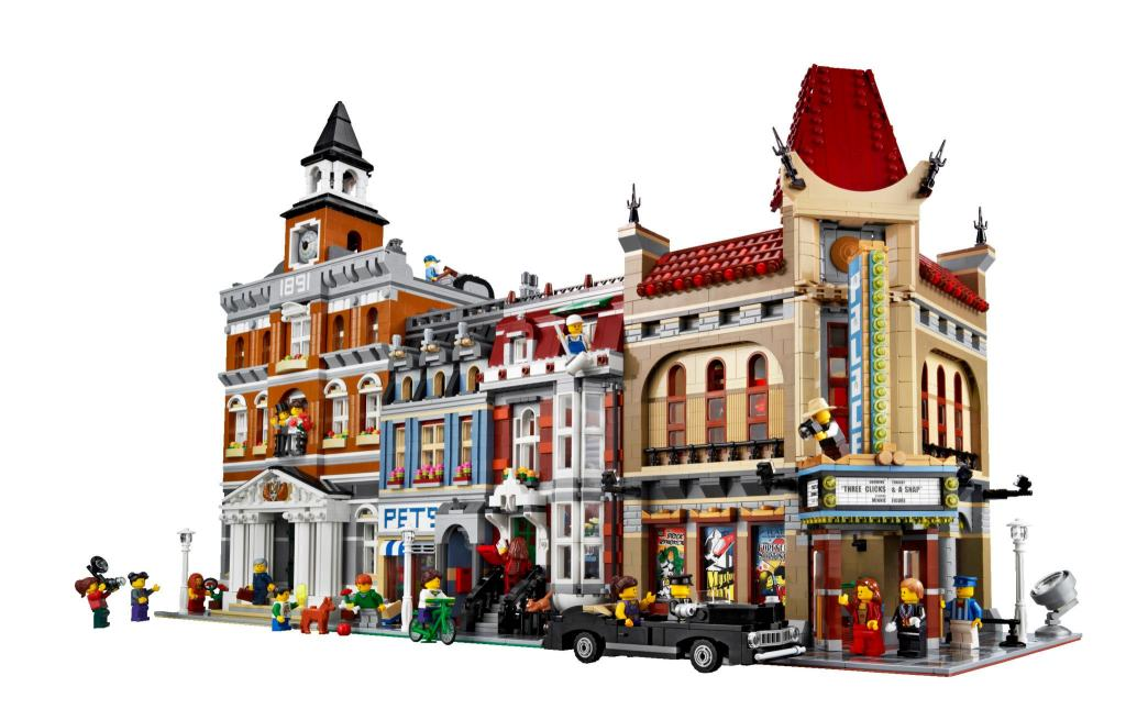 Town Hall, Pet Shop en Palace Cinema. (GF)