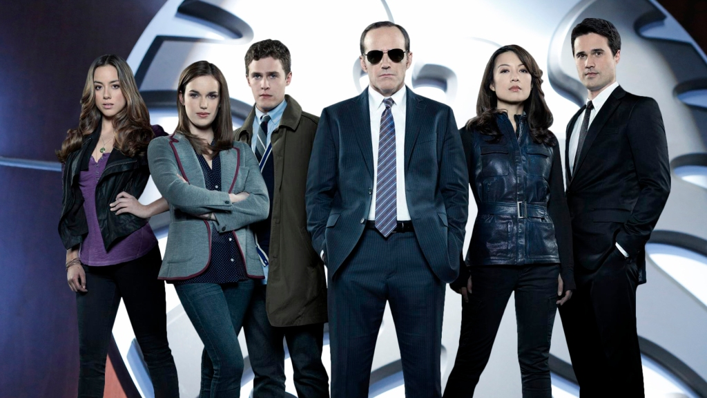 De cast van Marvel's Agents of S.H.I.E.L.D. (Foto ABC)