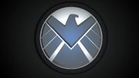 Het logo van S.H.I.E.L.D. (Foto ABC)
