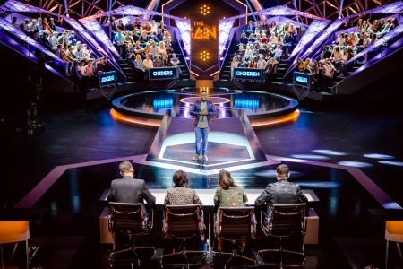 The Band ; seizoen 1 vanaf vrijdag 17 februari 2017 bij VTM. Op de foto : sfeer algemeen