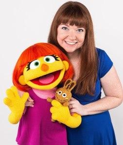 Julia Muppet Credit: Gil Vaknin